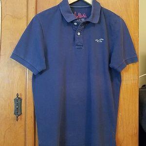 Hollister Men's Faded Polo Short sleeves Tshirt M